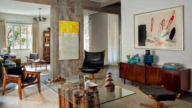 Artistic interior design in Sao Paulo