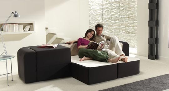 Contemporary multifunction sofa