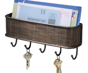 Handy mail and key rack