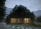 Italian outdoor pavilion