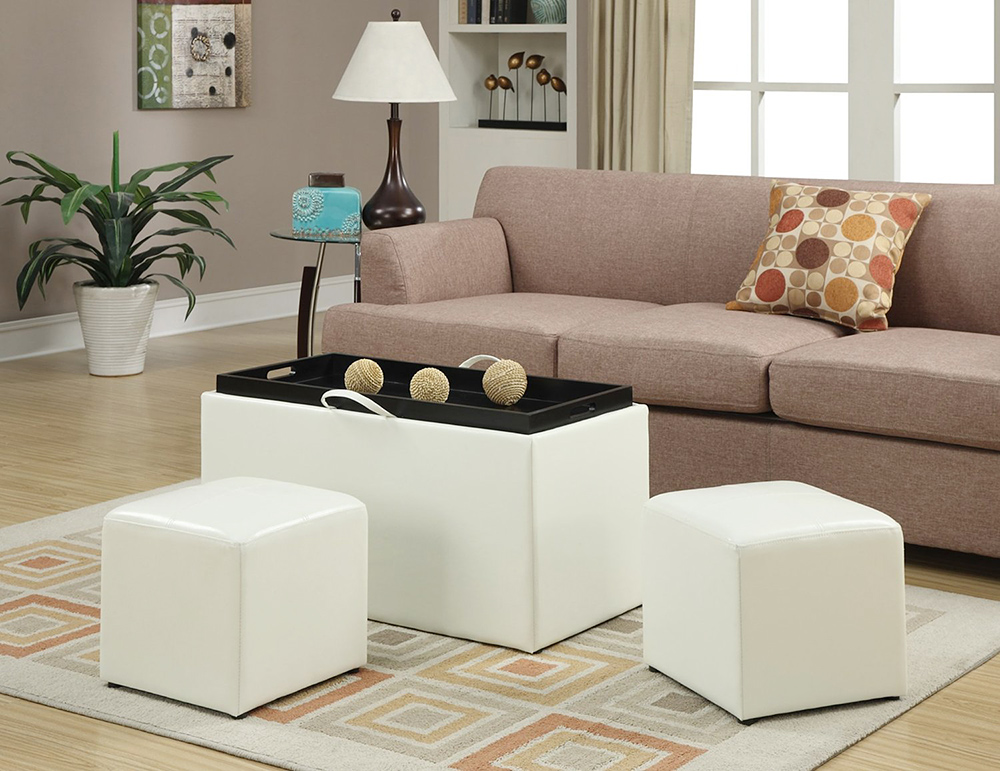 Leather-Storage-Bench-in-white-color