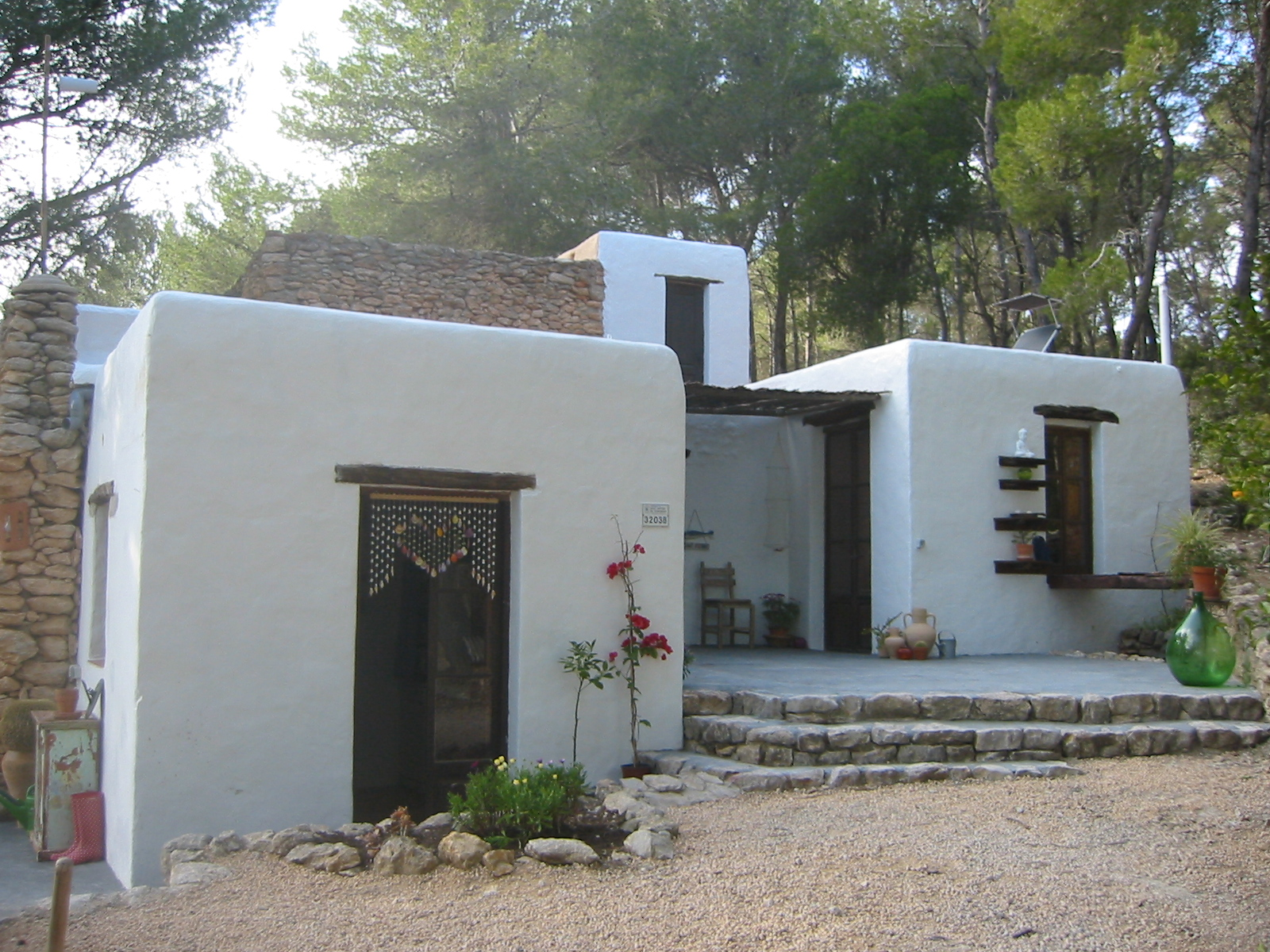 Natural villa in Ibiza