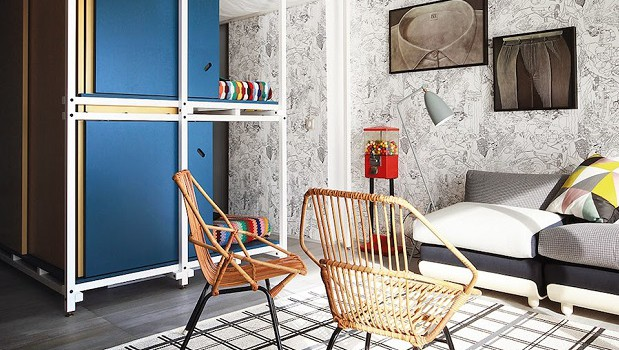 Small French apartment