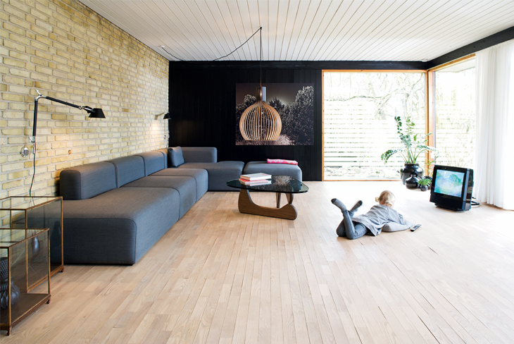A contemporary family house with style