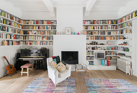 Adorable home with bright and beautiful decor
