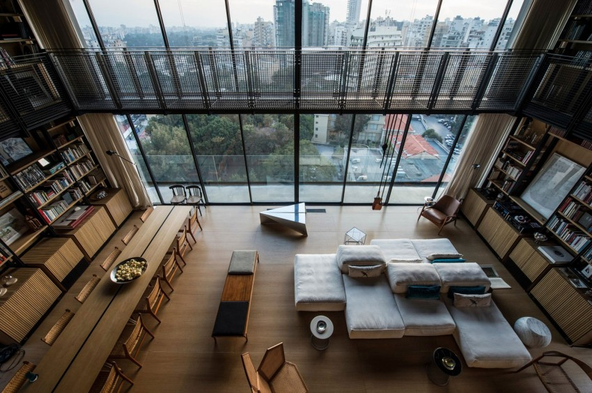 Amazing three-storey apartment in Lebanon