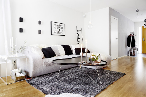 Beautiful bright home exudes minimalism