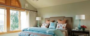 Designer master bedroom by Angela Todd