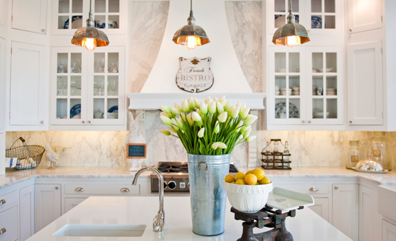White French Style Kitchen