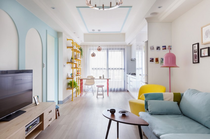 Pastel apartment in Wonderland