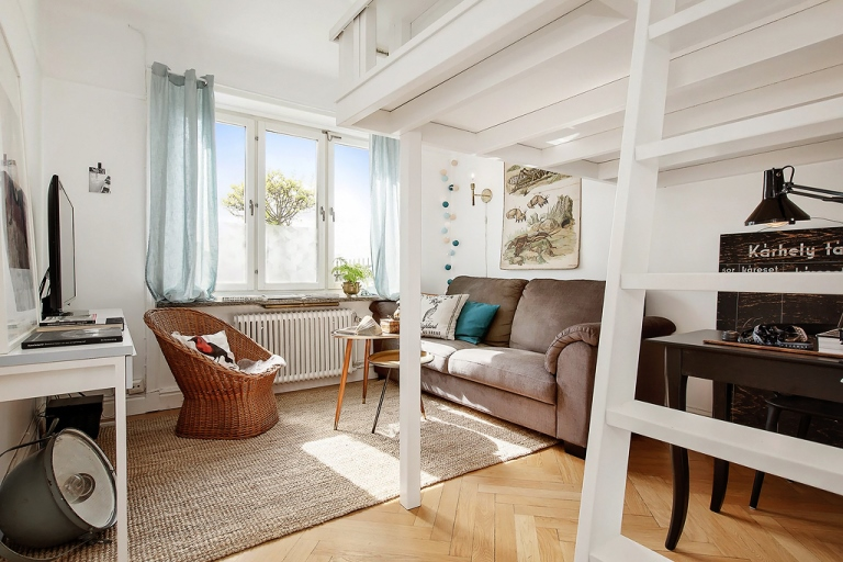 Small space living with big dreams