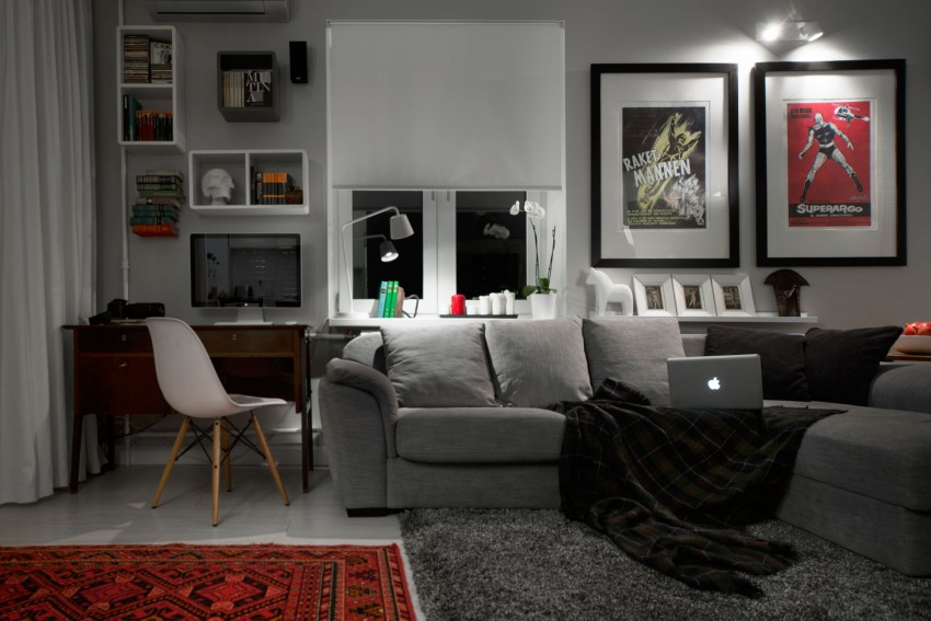 The Ideal Bachelor Apartment Adorable Home