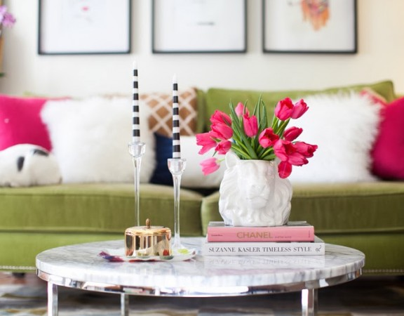5 tips on how to style a coffee table