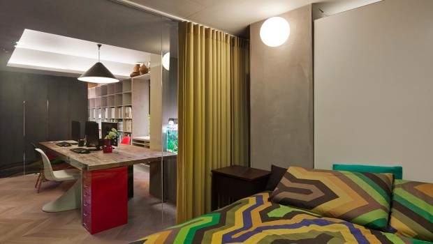 Compact home and office in downtown Taipei