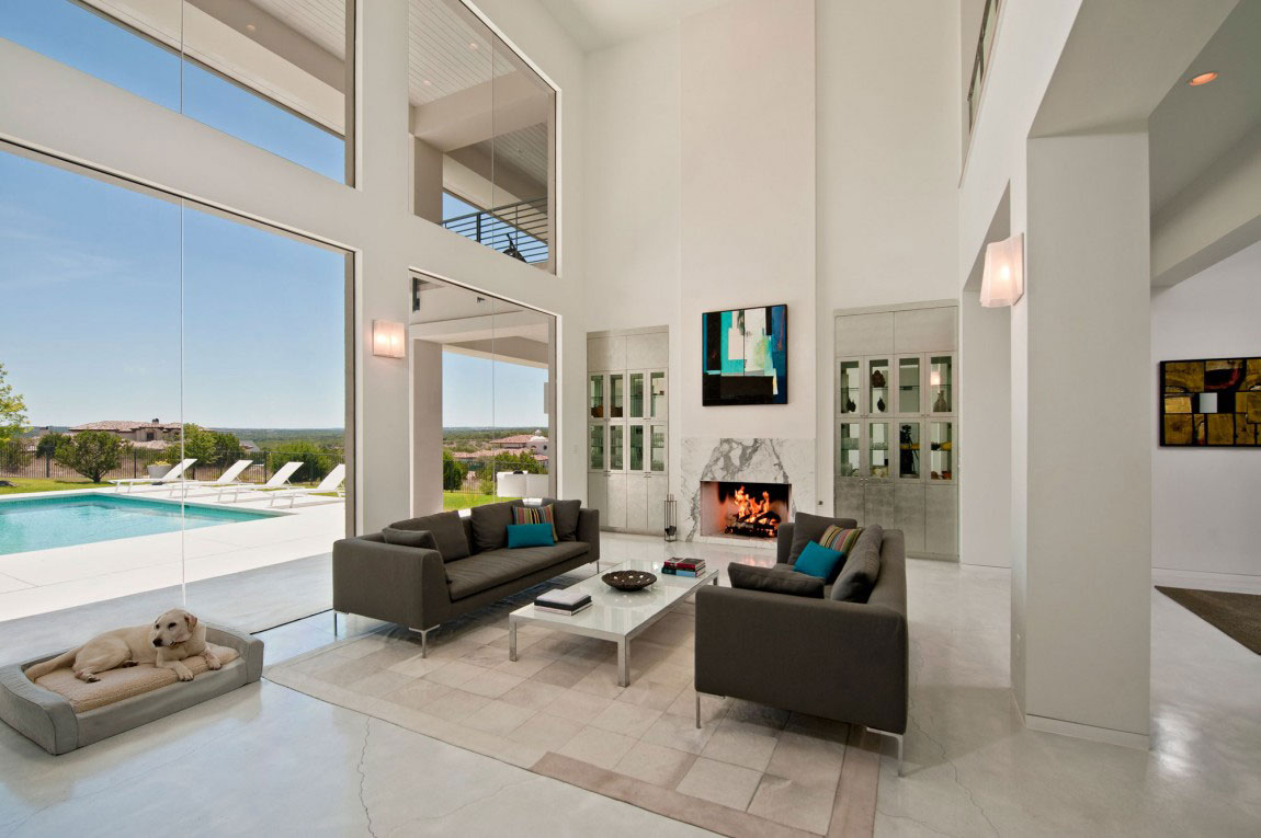 Contemporary house design in the USA