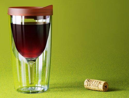 Convenient wine to go set