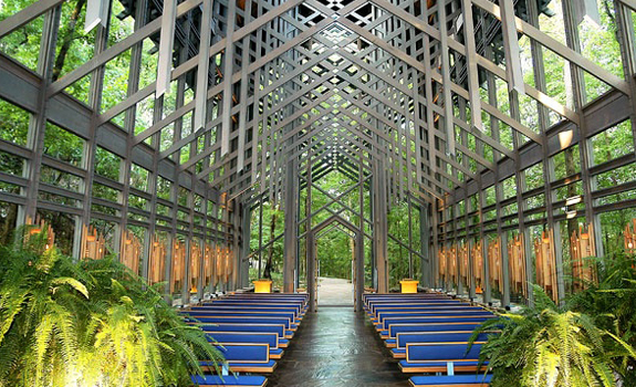The Thorncrown Chapel