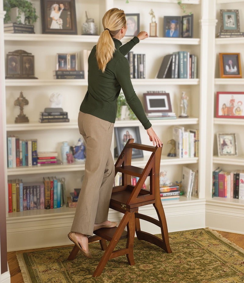 Resourceful Ladder Chair - ladder function