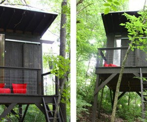 Setting new benchmarks in design with DIY treehouse