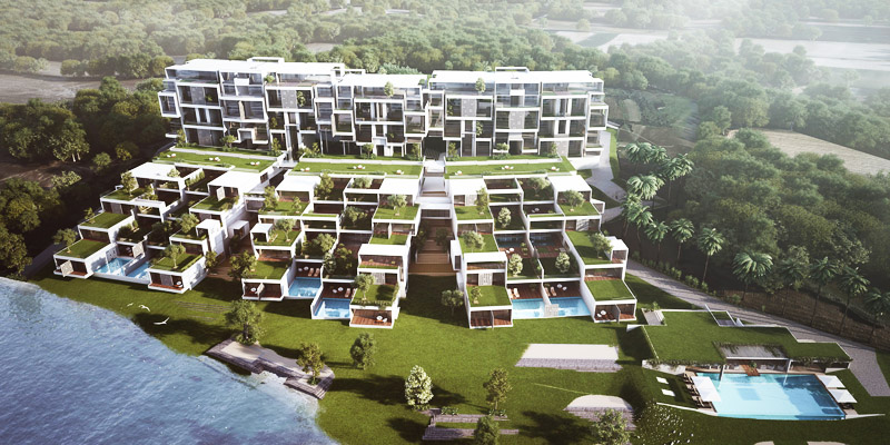 Villament development displays sophistication and efficiency