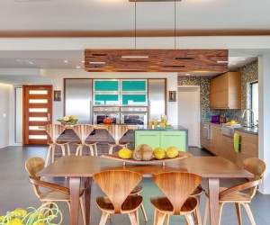 Styling it up with modern colorful interiors