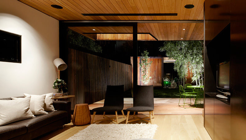 A contemporary minimalist home that keeps it simple