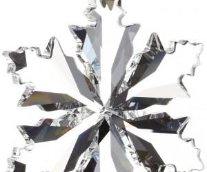 Dazzling Swarovski crystal snowflake
