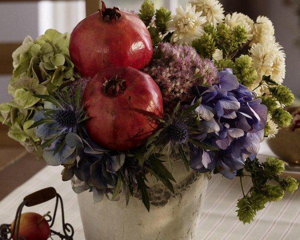 Thanksgiving flower bouquet