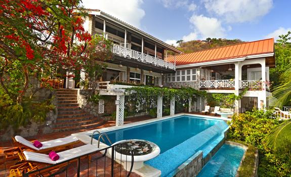 Luxury Tropical Villa, St. Lucia