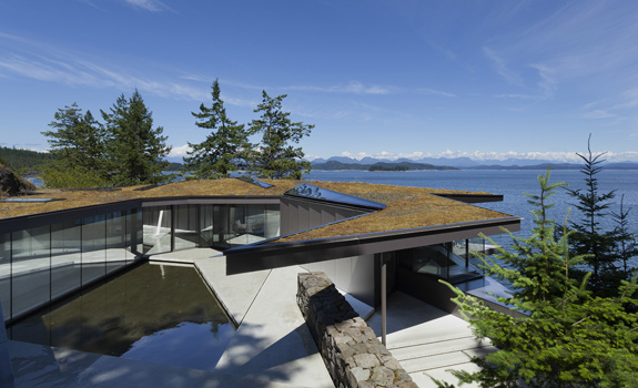 Private house with spectacular views