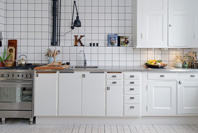 Restyle with retro kitchen tiles - Retro flooring kitchen ...
