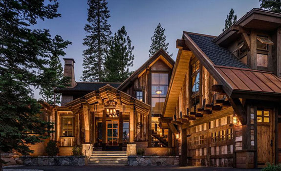 Rustic Mountain Cabin