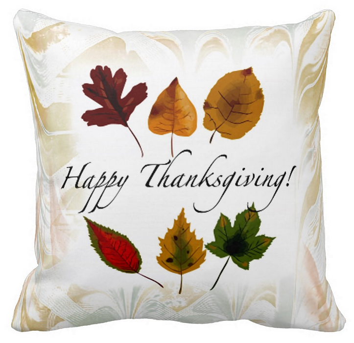 Thanksgiving Decorative Pillow