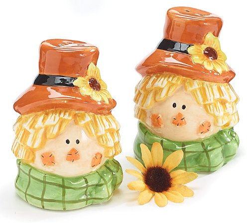 Thanksgiving salt and pepper shakers