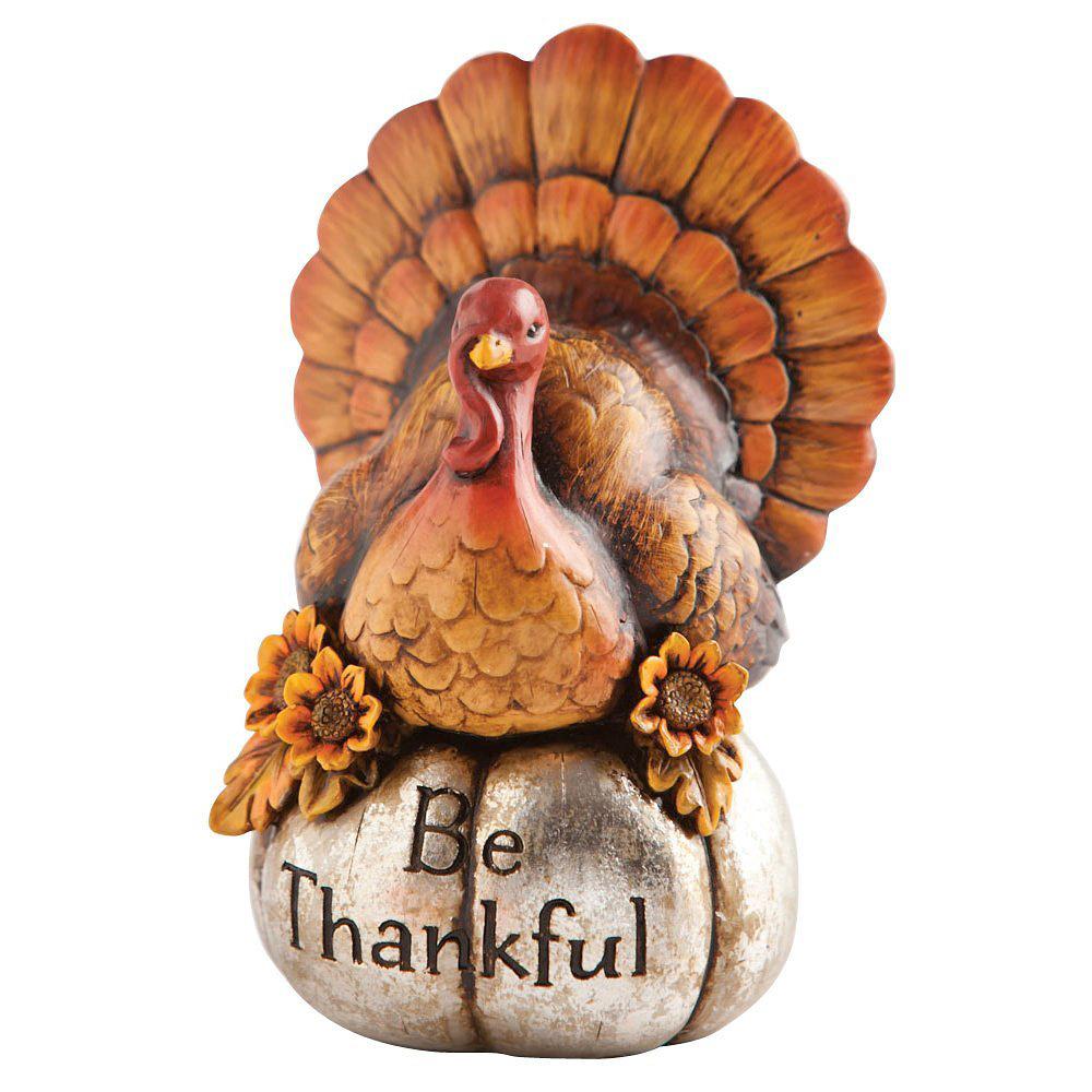 Turkey Table Centerpiece