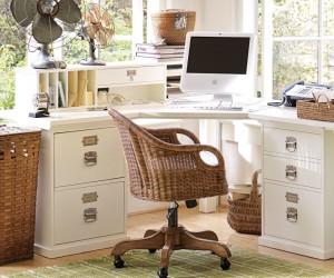 Smart space design for your home office: corner desks