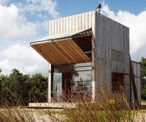 Holiday hut with a super smart design