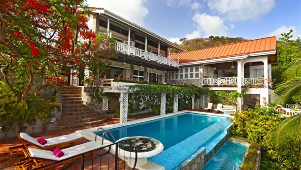Time out in total style: luxury tropical villa, St. Lucia