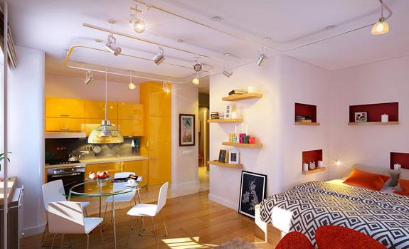 Vivid Small Apartment
