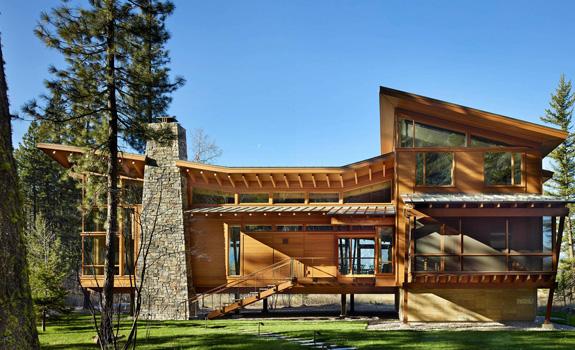 Wooden Residence