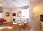 Compacted charm vivid small apartment Russia