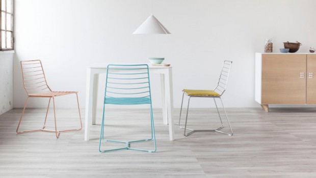 The Antia: graceful silhouettes in contemporary chair design