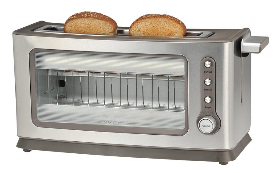 Contemporary Glass Toaster