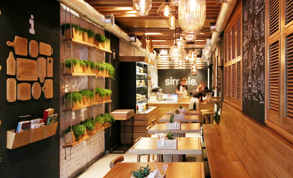 Casual restaurant design