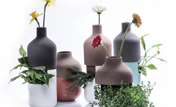 Multifunctional vases