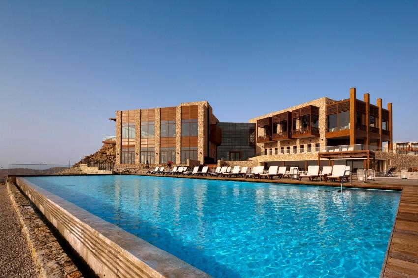 Delighting in a dry romance beresheet desert hotel Israel