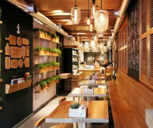 Stunningly simple: casual restaurant design, Kiev