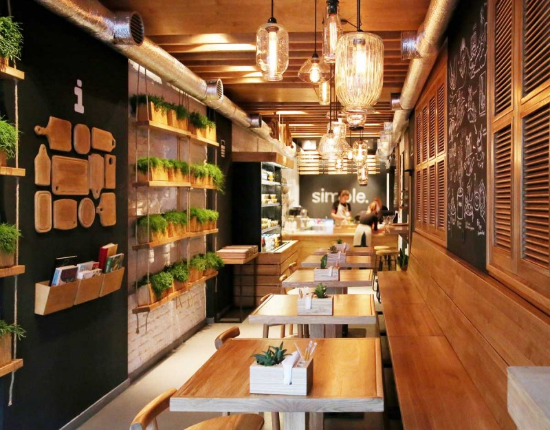 Stunningly simple casual restaurant design kiev adorable home Kitchen design for fast food restaurant