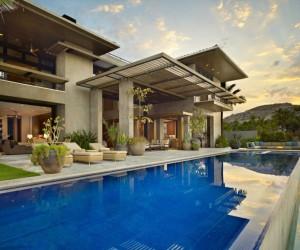 Mexican mashup beachside: contemporary residence, Cabo San Lucas