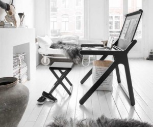 Scandinavian delights: desk and stool from Rafa-kids